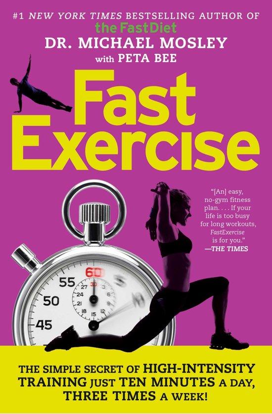 Boek cover FastExercise van Dr Michael Mosley (Paperback)