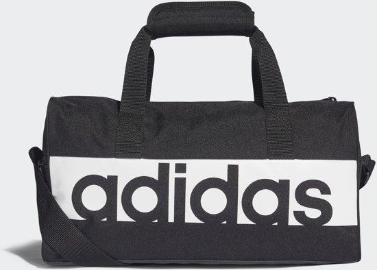 084d2e927fd bol.com | adidas Linear Performance XS Sporttas - Black/White/White