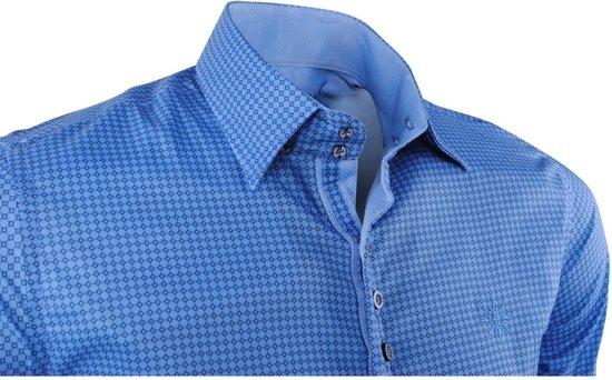 Trendy Design Overhemd Puglia Met FerlucciHeren Blauw 35ALRc4jq