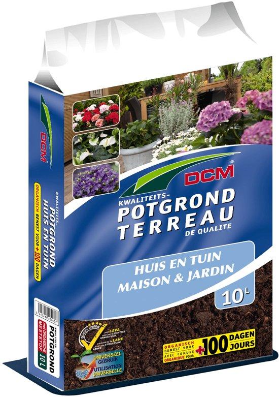 DCM potgrond huis en tuin 10L