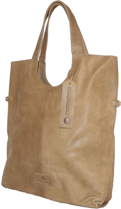 649948420a0 bol.com | Micmacbags Indiana Shopper - Zand - L
