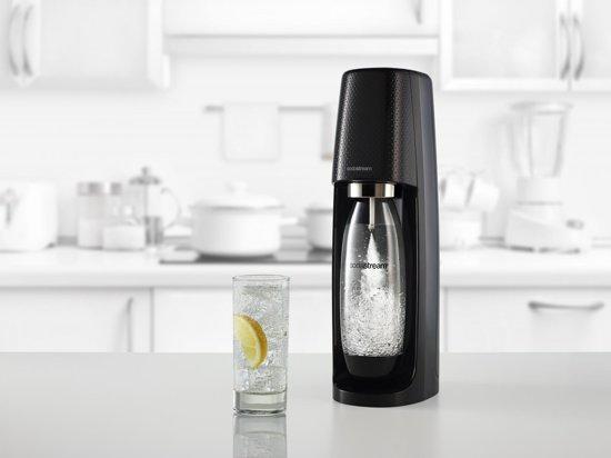 Sodastream Spirit Bruiswatertoestel - Mega Pack - Zwart - Inclusief  CO2-cilinder en 3 flessen