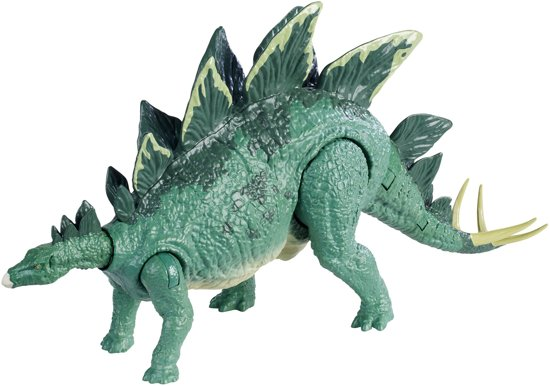 Jurassic World Super Strike Stegosaurus - Speelgoeddino