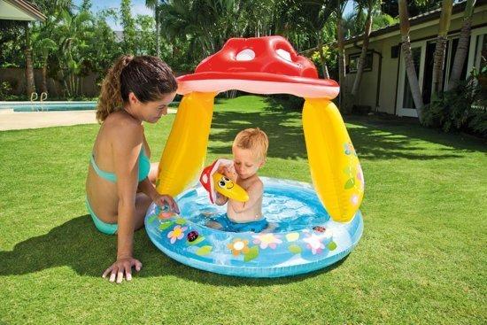 Intex Paddenstoel Baby Zwembad