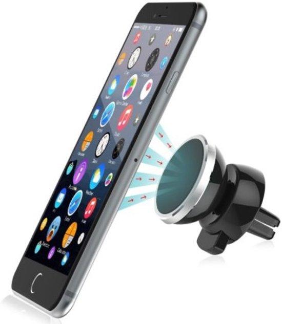 Universele Magneet Autohouder Voor Auto Ventilatierooster houder Geschikt o.a. voor uw iPhone 4 / 4S / 5 / 5S / 6 / 6S / 6S / 7 / 7 Plus , Samsung Galaxy S5 S6 S7 Edge S8 S8 Plus, HTC, Nokia, Huawei, LG, Sony etc.