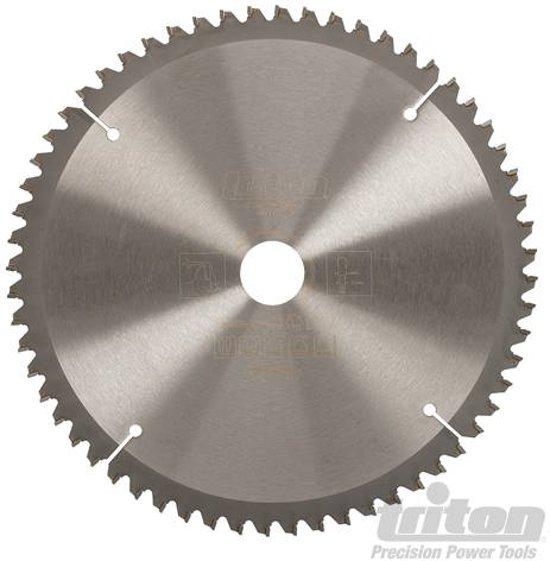 Triton hout cirkelzaagblad 250 x 30 mm, 60T