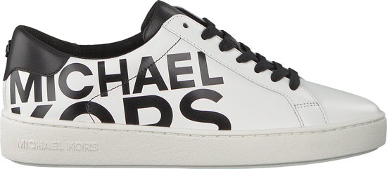 bf04587e392 bol.com | Michael Kors Dames Sneakers Irving Lace Up - Zwart - Maat 39