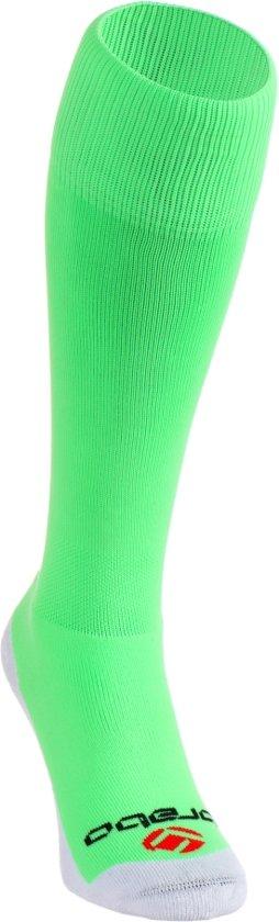 Brabo Socks BC8360 - Hockeysokken - Junior - Maat 31 - Neon Lime