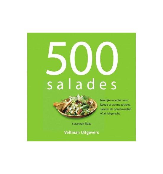 Boek cover 500 salades van TextCase (Hardcover)