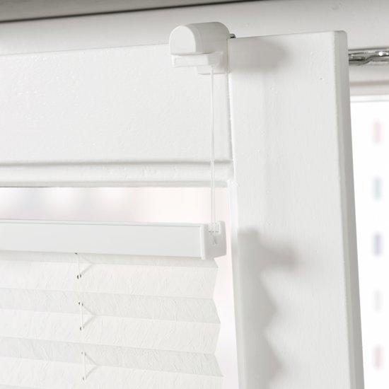 klemsteun voor plisse met zijgeleiding voor draai kiep ramen. Black Bedroom Furniture Sets. Home Design Ideas
