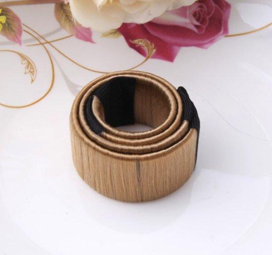 Knot maker - haar accessoires - knot - messy bun - haarband - beige - DisQounts