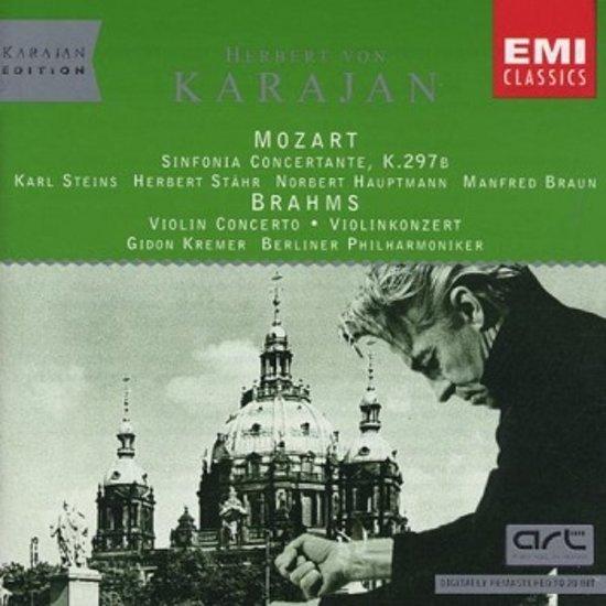 Mozart: Sinfonia Concertante, K297b / Brahms: Violin Concerto, Op. 77