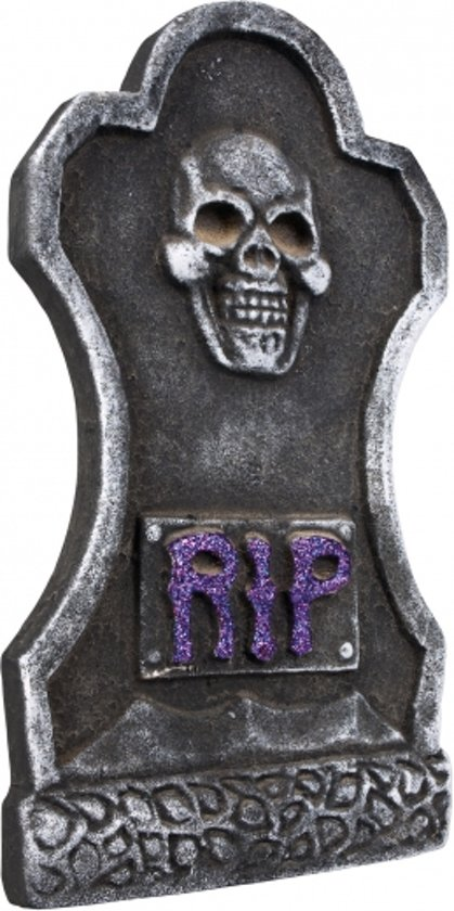 Halloween Kruis.Halloween Grafsteen Rip Kruis 40 Cm Halloween Horror Versiering