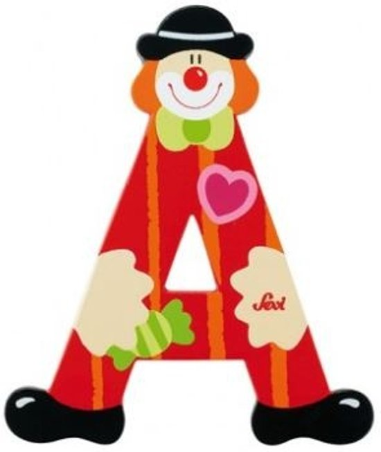 Sevi Letter A Clown 10 Cm