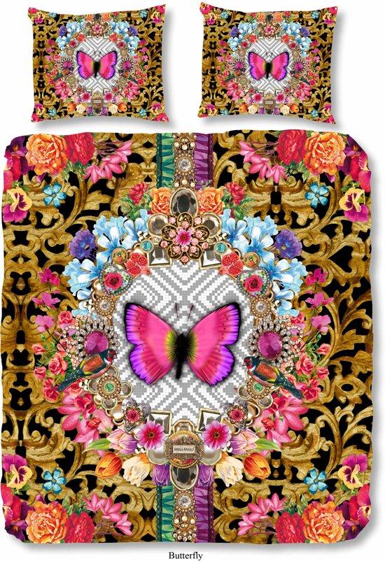 melli mello butterfly dekbedovertrek multi 2. Black Bedroom Furniture Sets. Home Design Ideas