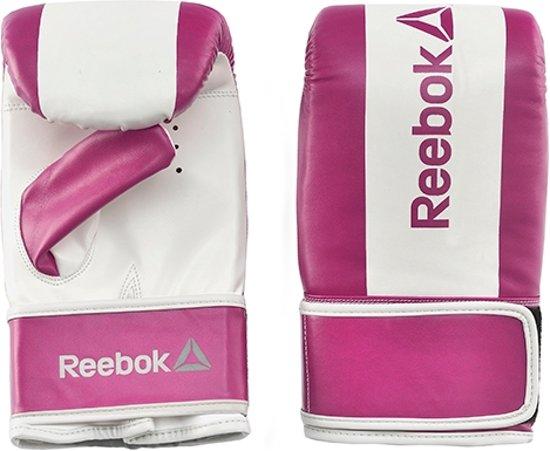 Reebok Combat zakhandschoenen Small paars/wit