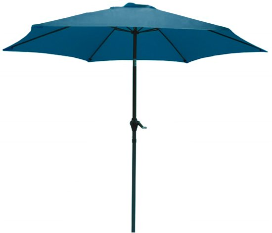 PimXL Parasol – Ø300cm - Petrol blue