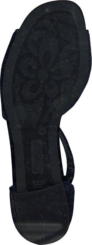 Gabor Dames Sandalen 723 - Blauw