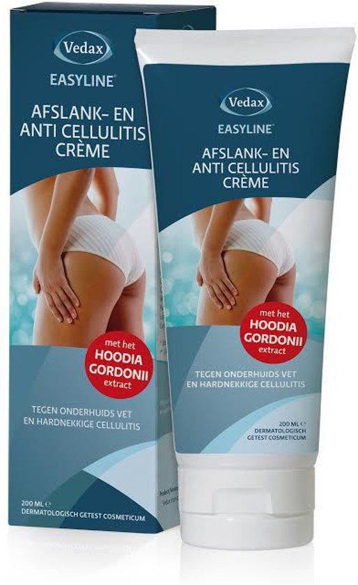 Vedax Easyline Anti Cellulitis Afslankcrème - 200 ml