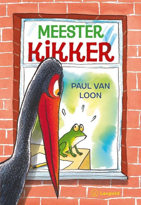 Boek cover Meester Kikker van Paul van Loon (Hardcover)