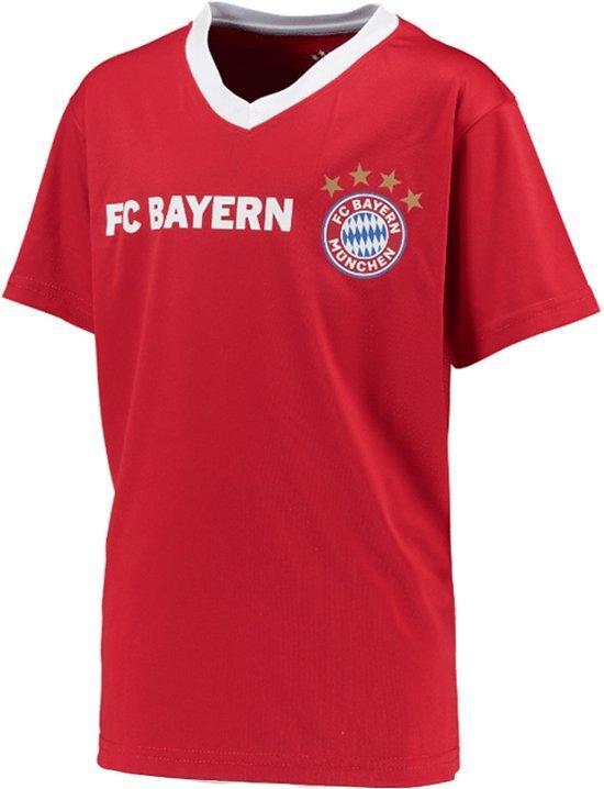 Bayern Munchen Voetbalshirt Thuis Blanco Kids-164