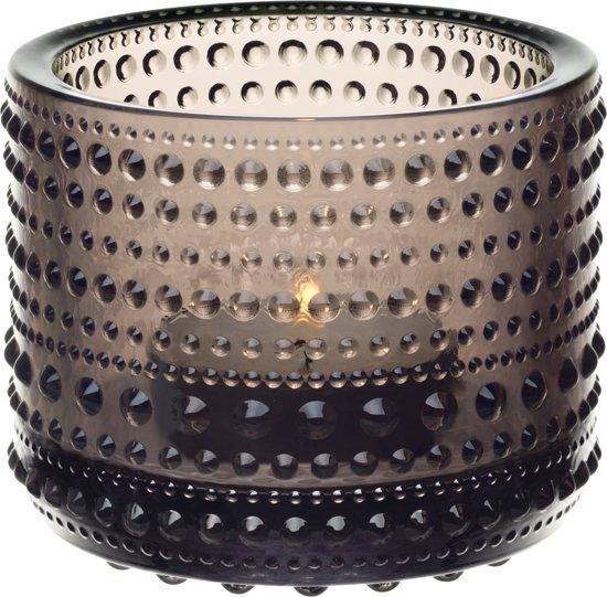 Iittala Kastehelmi - Waxinelichtjeshouder - Sfeerlicht - h 6.4 cm - Zand