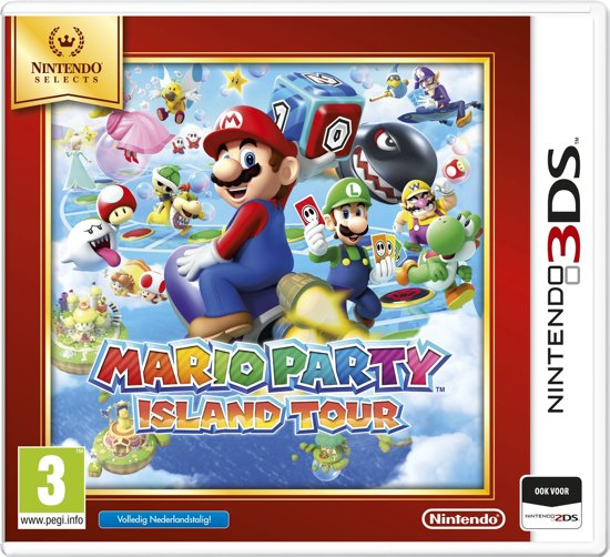 Cover van de game Mario Party - Island Tour - Nintendo Selects - 2DS + 3DS