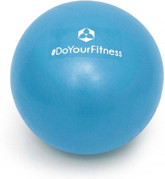 #DoYourFitness - Mini Pilates Bal - »Balle« - Gymnastiekbal: Effectieve training voor spierspijn - 23cm - hemelsblauw