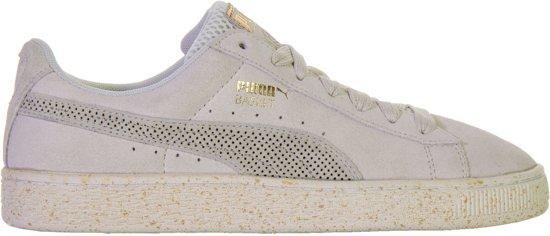 93a61edada5 Puma Suede x Careaux Sneakers Senior Sneakers - Maat 35.5 - Unisex - grijs /wit