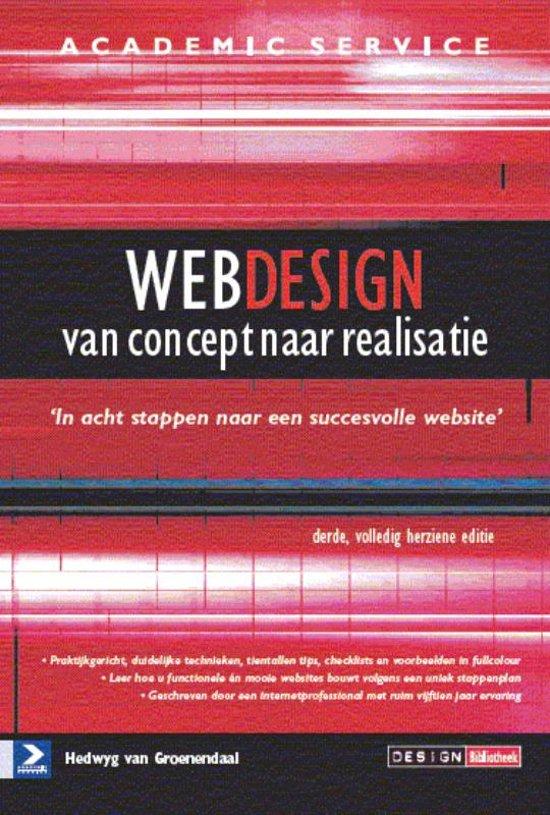Webdesign van concept tot realisatie - 3de herziene druk
