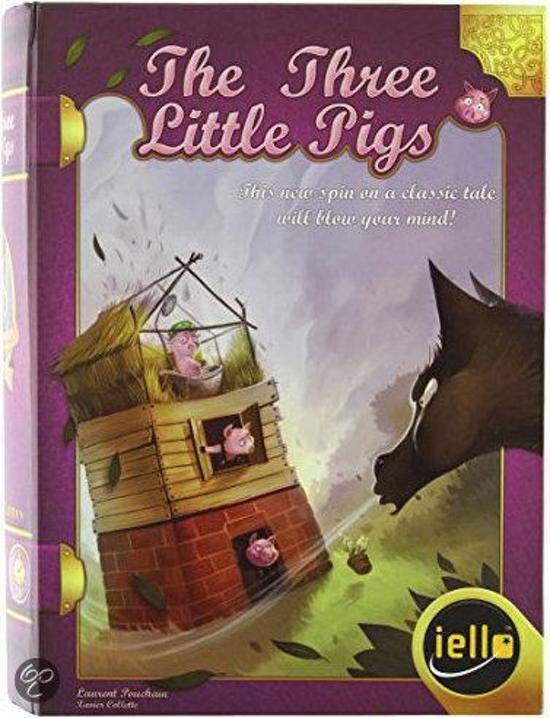 Afbeelding van het spel The Three Little Pigs Storybook Board Game