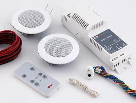 Inbouwradio Badkamer Usb : Bol plieger boxx inbouwradio met speakers basic kb sound