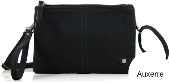 d90841d22c1 bol.com | Crossbody-, Schoudertasje model Auxerre zwart