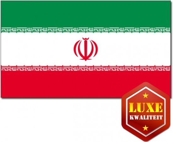 Luxe vlag Iran