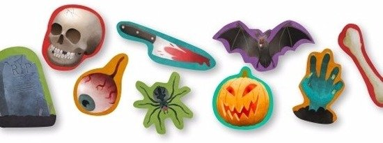 Halloween Thema.Halloween Confetti Halloween Thema 300 Gram