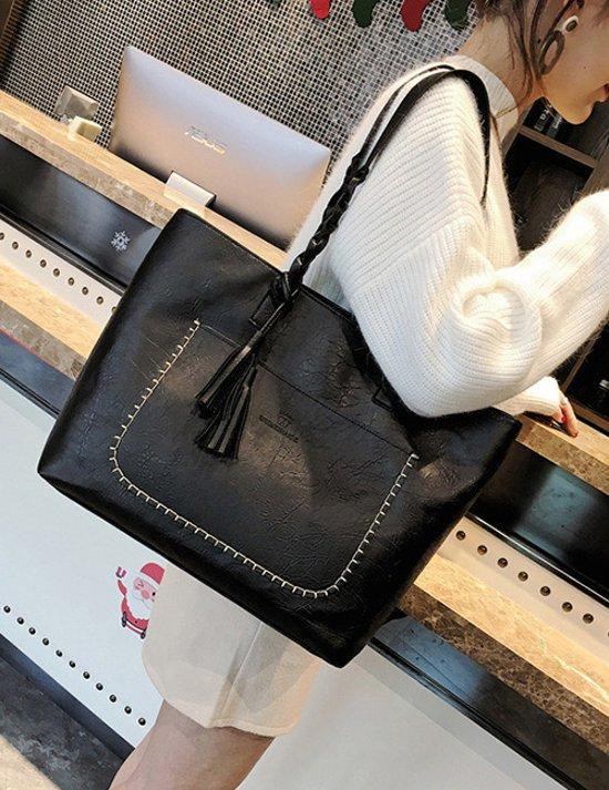 Ongebruikt bol.com   Fashionidea – mooie zwarte kunst leren shopper met DP-46