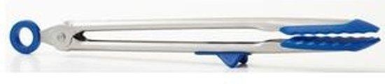 Set van 2 - RVS Tang met siliconen, blauw - Tovolo