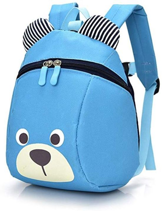 31b3e90fb3b Harness Buddy kindertuigje - Knuffel rugzakje met looplijn - Looptuigje  blue bear - Tuigje Kind -