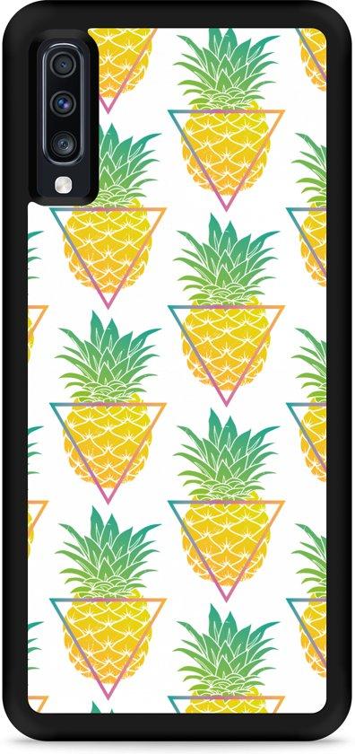 Galaxy A70 Hardcase hoesje Pineapple