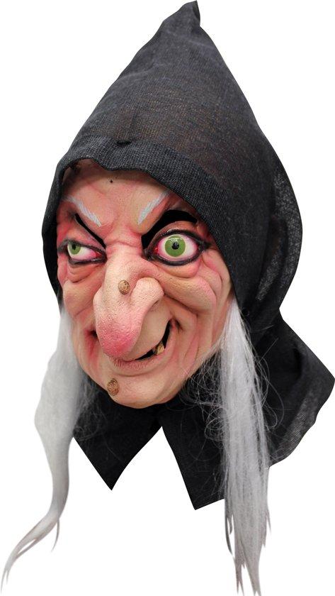 """""""Heksen masker voor volwassenen Halloween accessoire - Verkleedmasker - One size"""""""