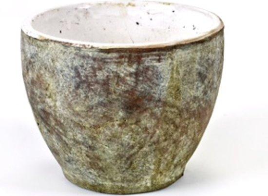 Bloempot Met Licht : Bol.com serax bloempot aardewerk craquelé keramiek groen