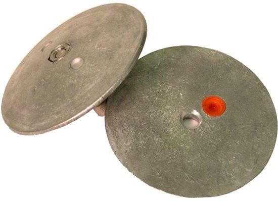 Performance Metals R2813A aluminium Anode 150 gram Ø 72 mm