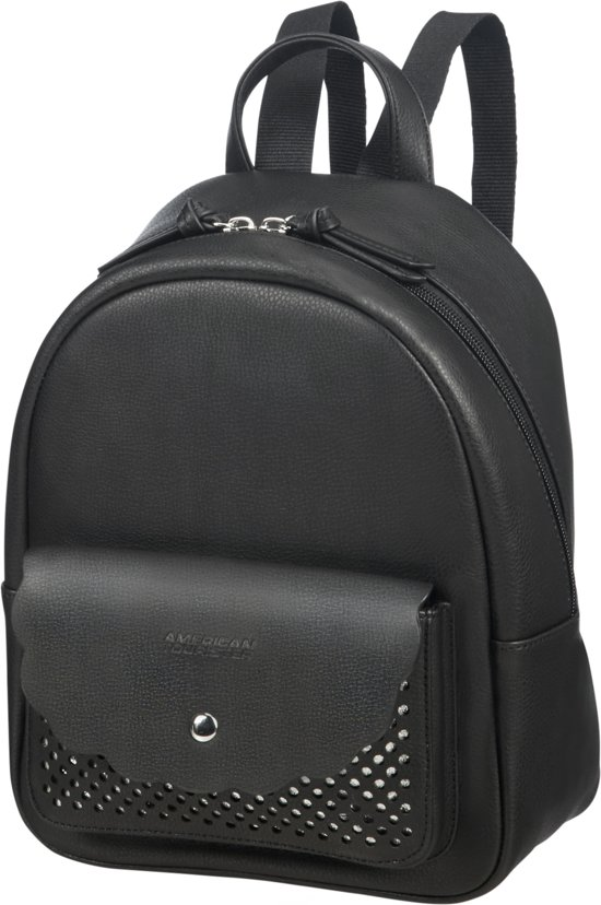 silver American RugzakLuna City Black Backpack Tourister Pop 4RL3j5A