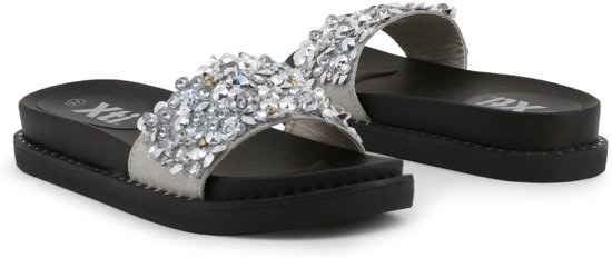 Xti - Slippers - Vrouw - 47961 - silver,black