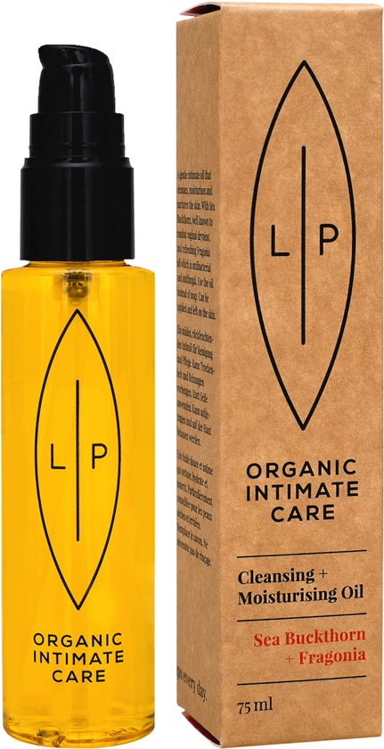 LIP ORGANIC INTIMATE CARE - Cleansing + Moisturising Oil Sea Buckthorn & Fragonia