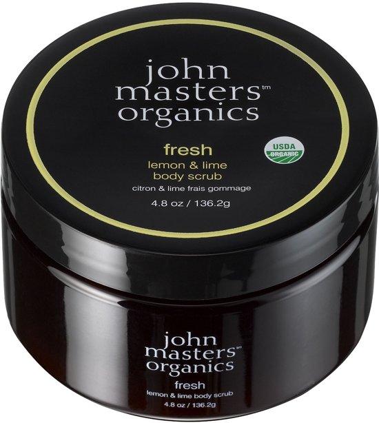 John Masters Organics Fresh Lemon & Lime body scrub - 136 ml - Douchegel