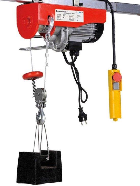 Elektrische Takel Lier 500 kg / 12mtr Kabel