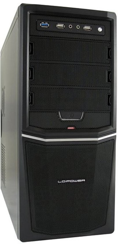 LC-Power PRO-924B - ATX Pro-Line Midi-Toren Zwart 350 W