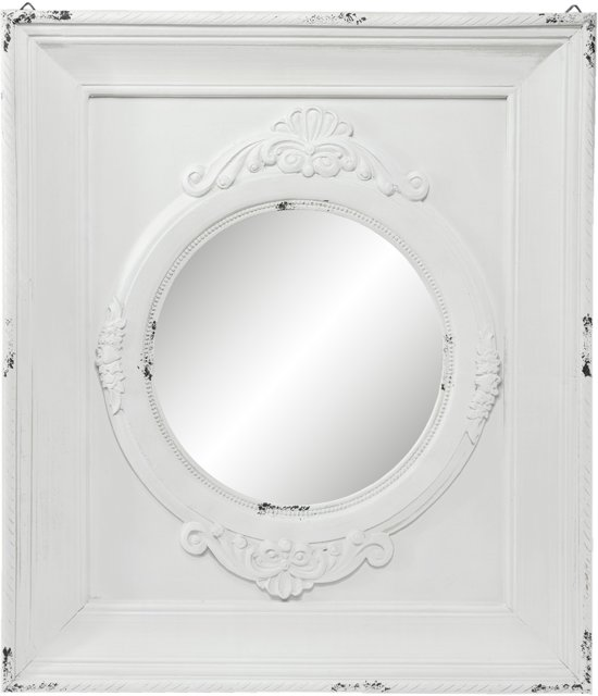 Spiegel 62*5*72 cm Distressed wit | 52S114 | Clayre & Eef