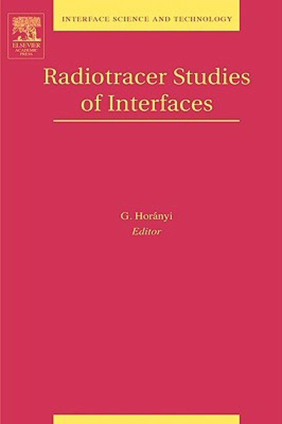 Radiotracer Studies of Interfaces